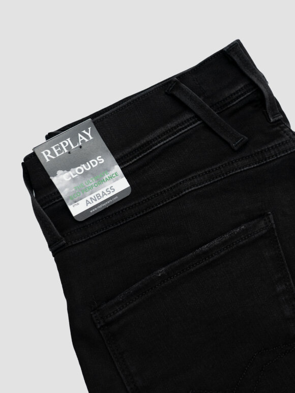 Replay - Replay Anbas E01 Jeans Sort
