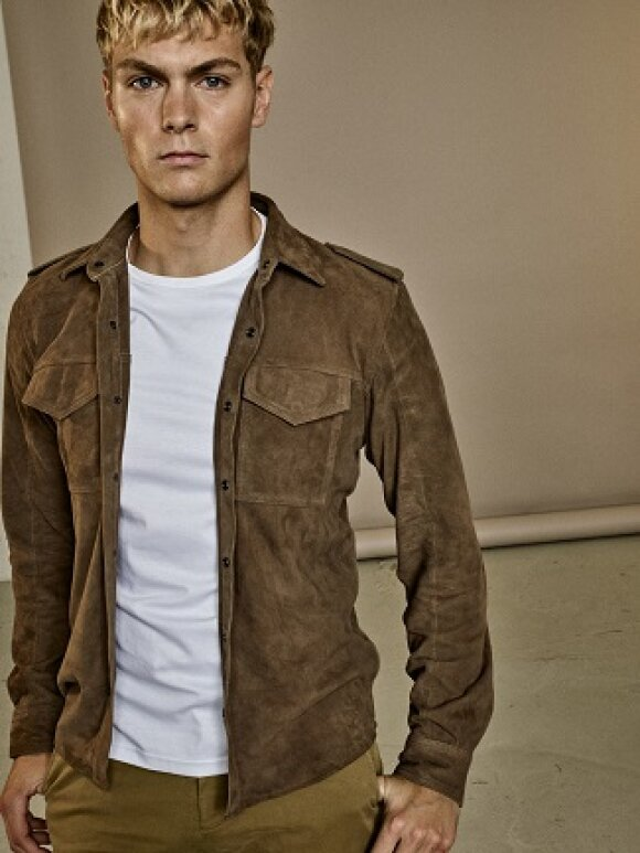 Mos Mosh Gallery - Ollie Leather Shirt
