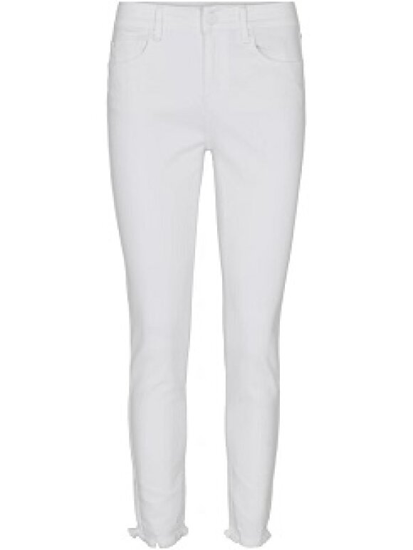 Ivy - Alexa Ankle Jeans Withe Distre