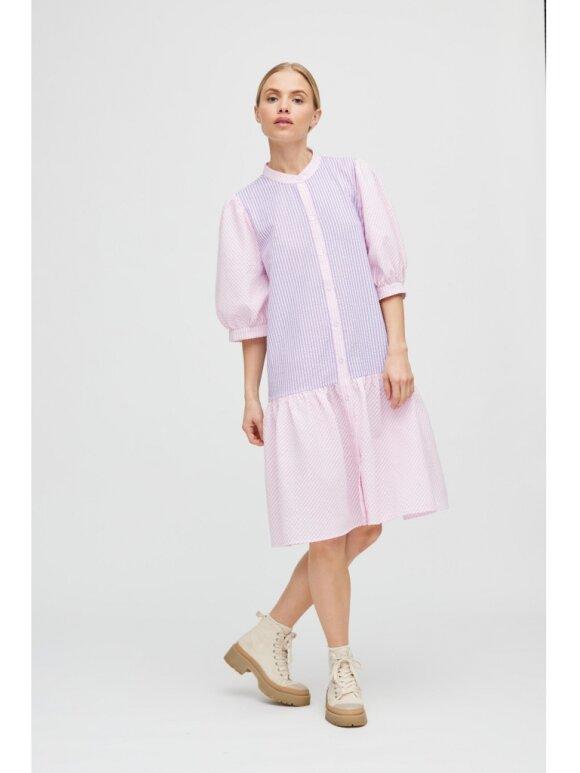 A-View - Rikke dress Lavender/Pink