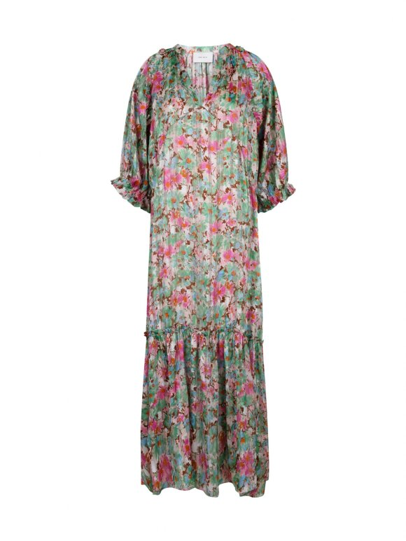 Neo Noir - Milla Orchid Flower dress