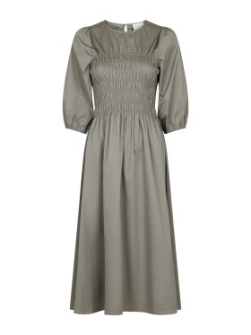 Neo Noir - Aries Solid Dress Dusty army