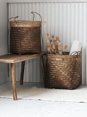 House Doctor - Baskets Balie nature L