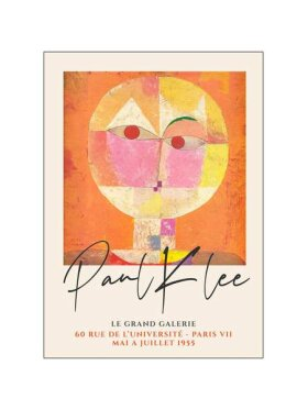 Plakater - Paul Klee Senecio 50*70